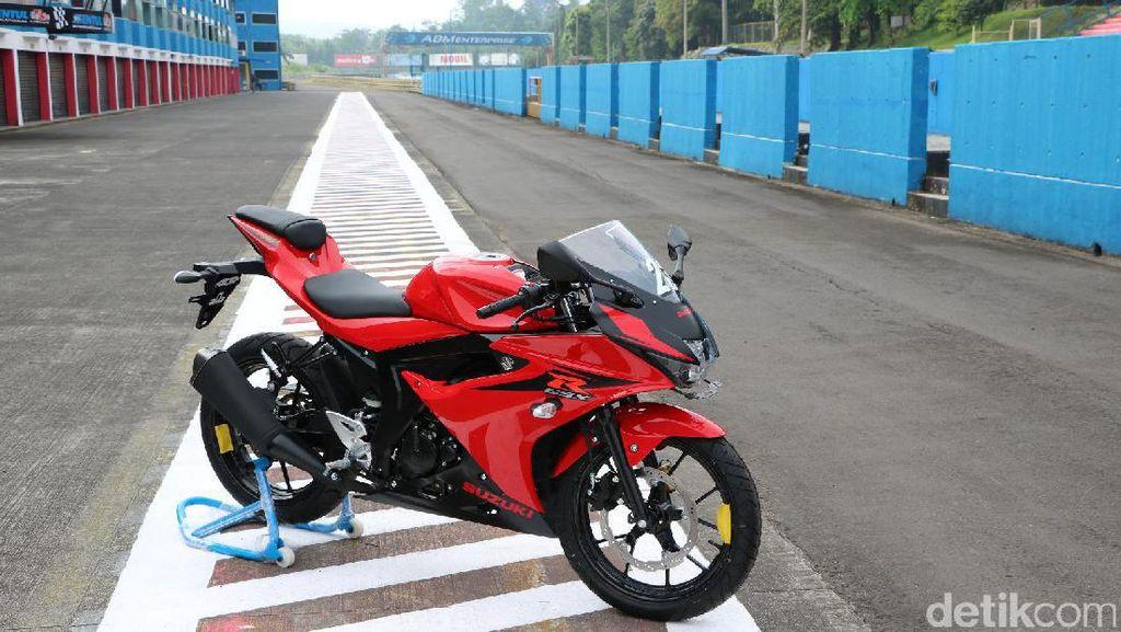 Bulan April, Harga Motor Sport Suzuki Langsung Naik Rp 2 Juta