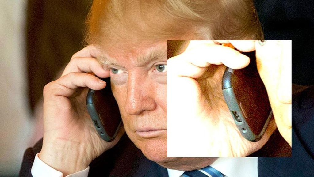 Donald Trump (Akhirnya) Tinggalkan Android Jadul