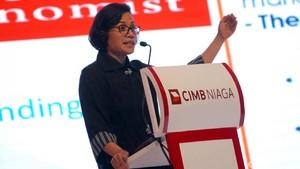 Sri Mulyani Hadiri CIMB Niaga Economic Forum 2017