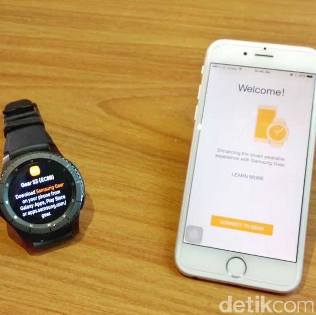 Cara Mudah Pairing Gear S3 Frontier dengan iPhone