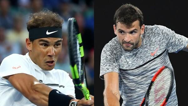 Nadal vs Dimitrov: Siapa Susul Federer ke Final?