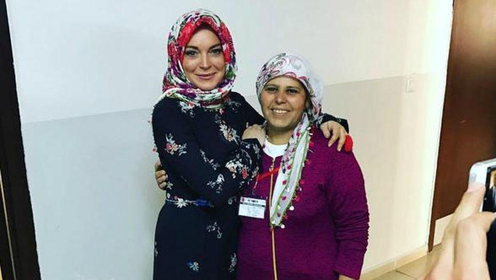 Pengakuan Lindsay Lohan Soal Isu Pindah Agama Islam