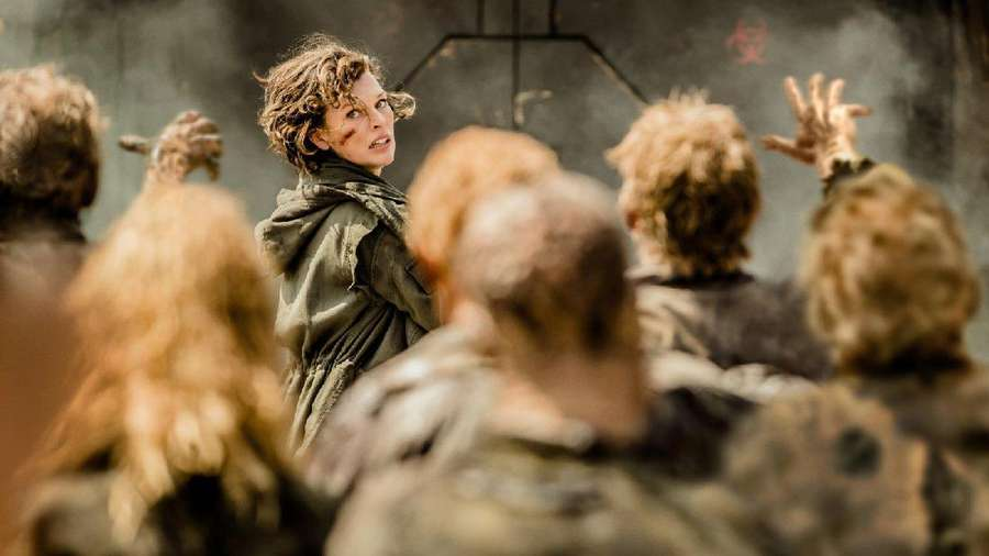 Aksi Mila Jovovich di Resident Evil: The Final Chapter