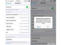 Mengoneksikan Gear S3 Frontier ke iPhone