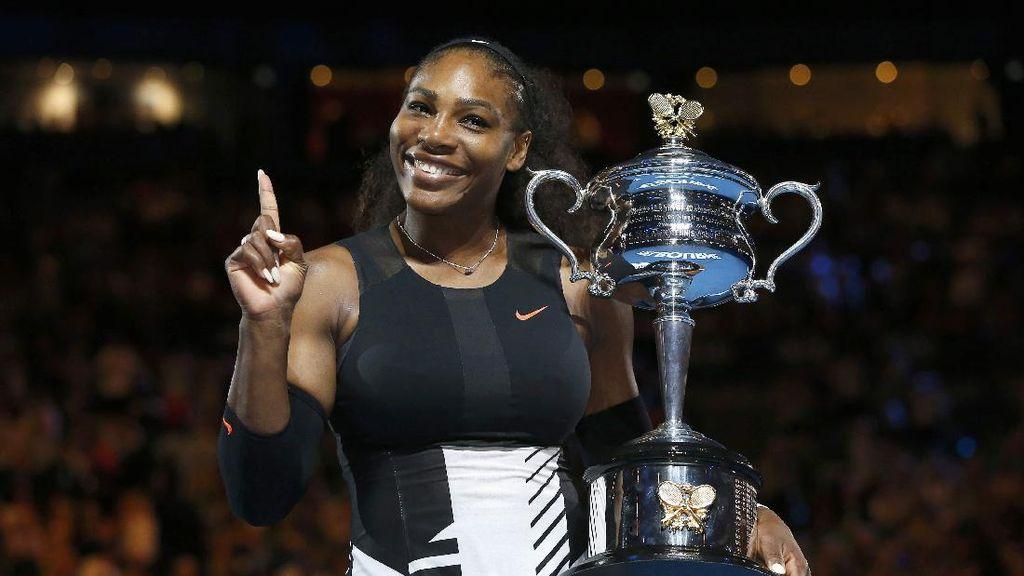 Atlet Sekelas Serena Williams Hamil, Amankah Tetap Tenis?