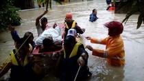 Hujan dan Pasang Laut di Bangka, 1.300 Warga Terdampak Banjir