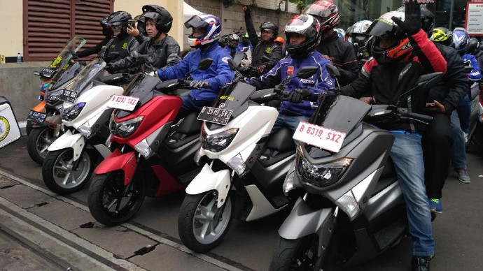 Yamaha Ajak Pengguna Maxi Berpesta di Cibubur