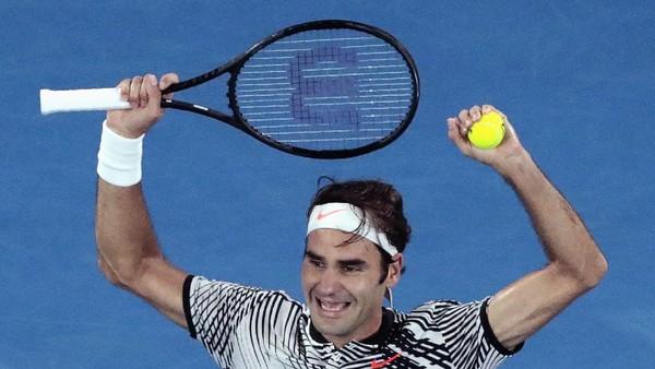 Kalahkan Nadal, Federer Juara Australia Terbuka 2017