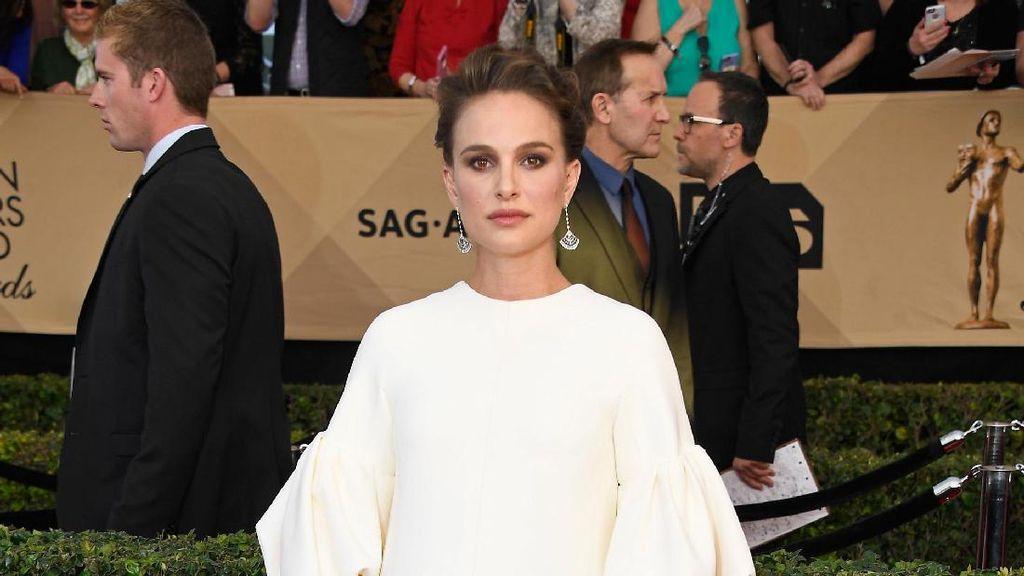 Hamil Besar, Natalia Portman Tak Hadiri Red Carpet Oscar 2017