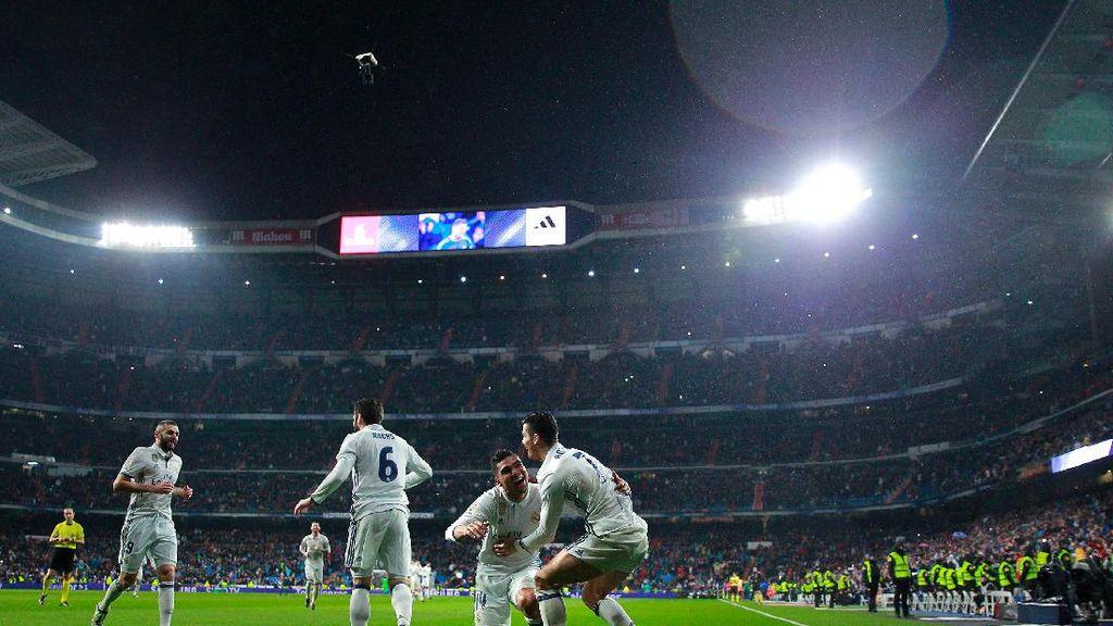 Foto-Foto Jornada 20: Madrid Menang, Para Rivalnya Tak Maksimal