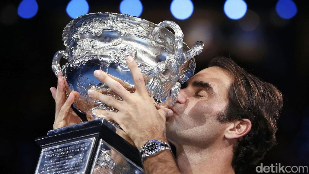 Federer Juara Australia Terbuka 2017