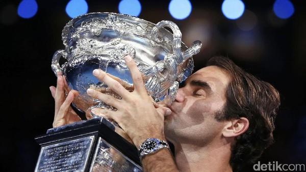 Federer Terhebat Sejagat dan Angka-Angka Menariknya
