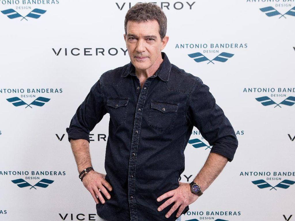 Antonio Banderas Ungkap Keadaan Pasca Kena Serangan Jantung