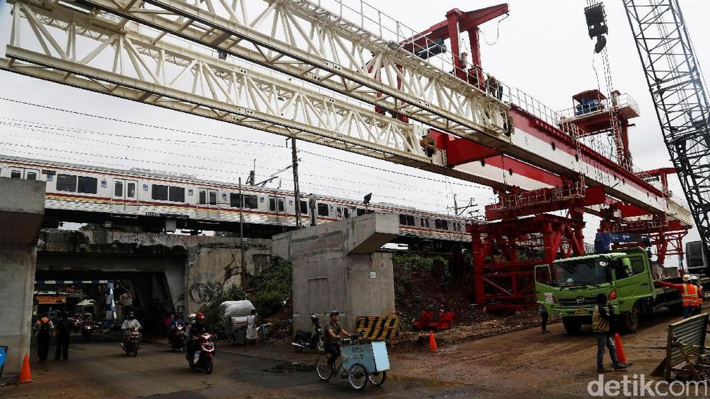 Pembangunan Proyek Double-double Track Terus Dikebut