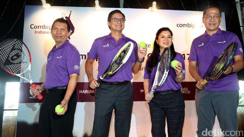 Combiphar Tennis Open 2017 Akan Diikuti 20 Negara