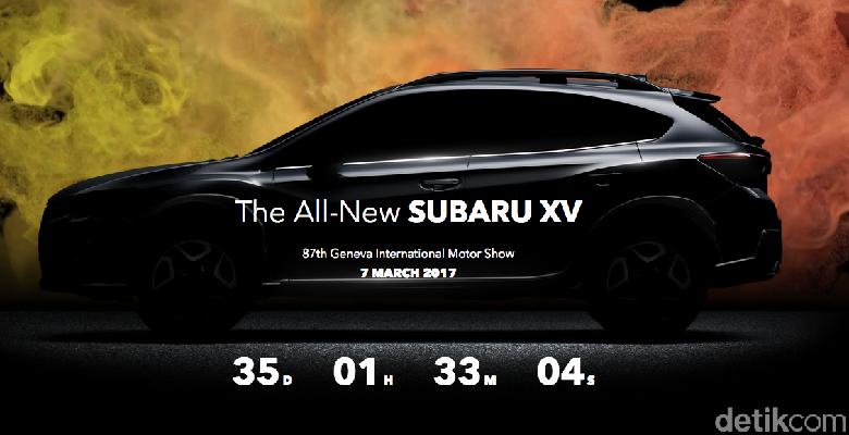 Subaru Akan Hadirkan New XV