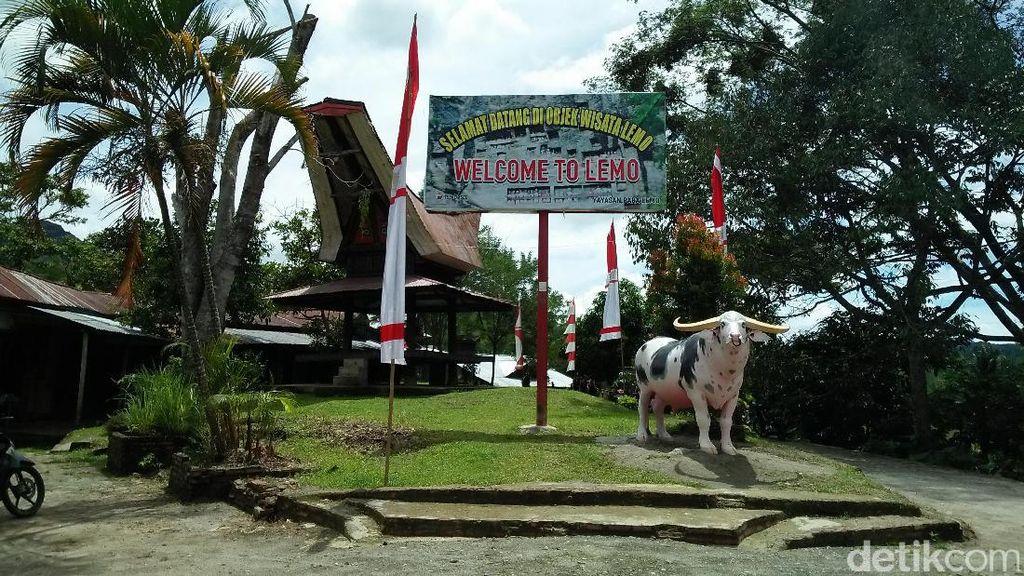 Wisata Mistis Tapi Instagenic, Makam Tebing Toraja