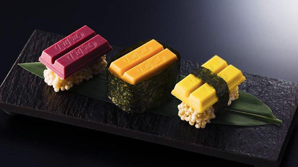 Kit Kat Perkenalkan Aneka Sushi dari Cokelat Dalam Varian Sushi Bar