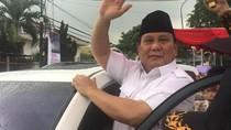 Prabowo Tiba di DPP Gerindra Disambut Marching Band