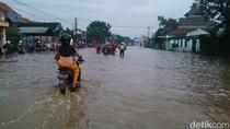 Jalan Pantura Pasuruan Kembali Lumpuh akibat Banjir
