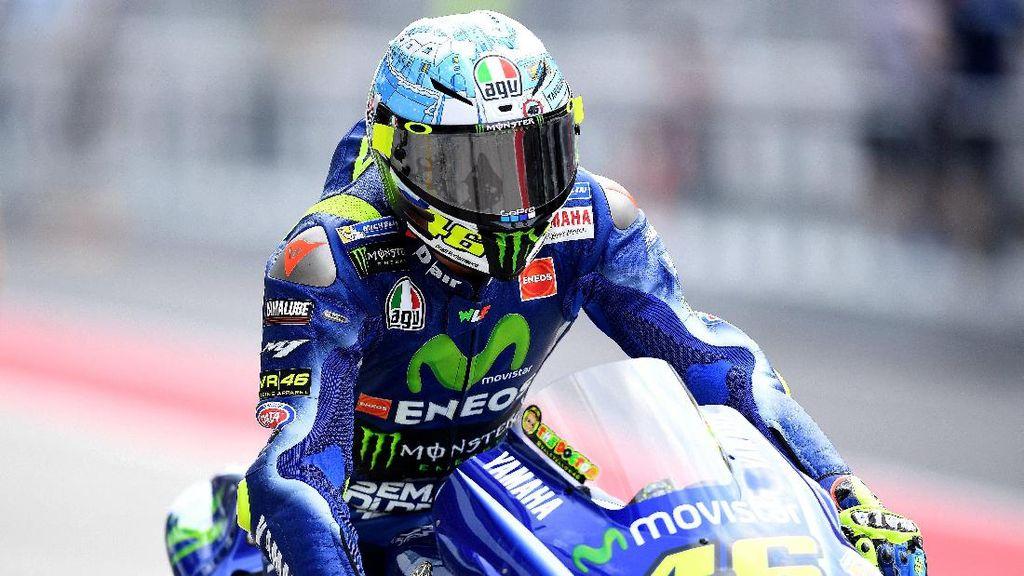 Rossi Tidak Mau Losail Diguyur Hujan