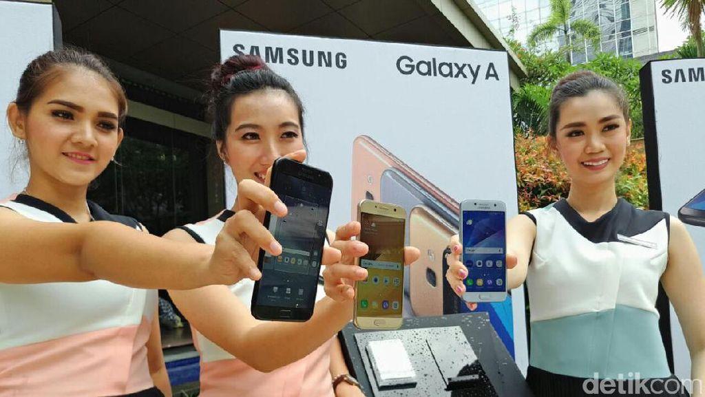 Samsung Luncurkan Tiga Varian Galaxy A 2017