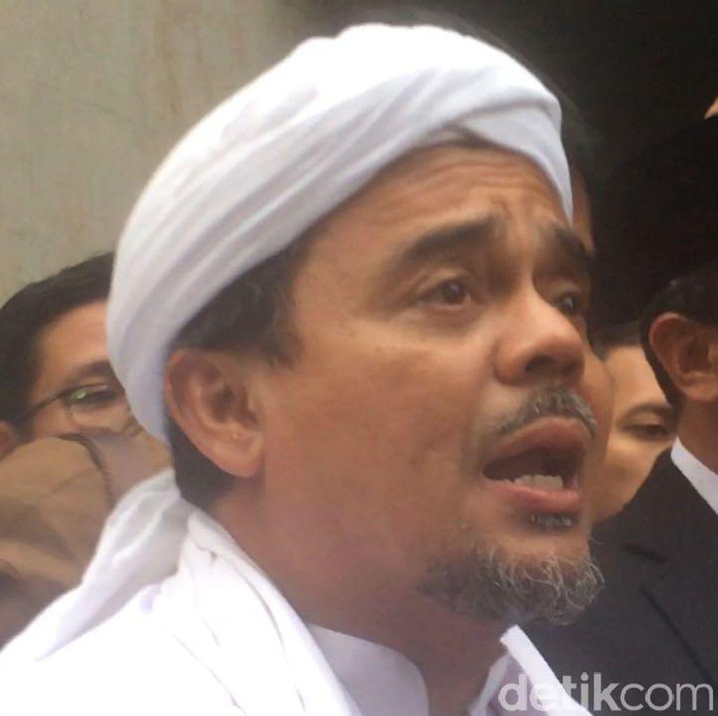 Polisi Pastikan Penetapan Tersangka Habib Rizieq Tak Direkayasa