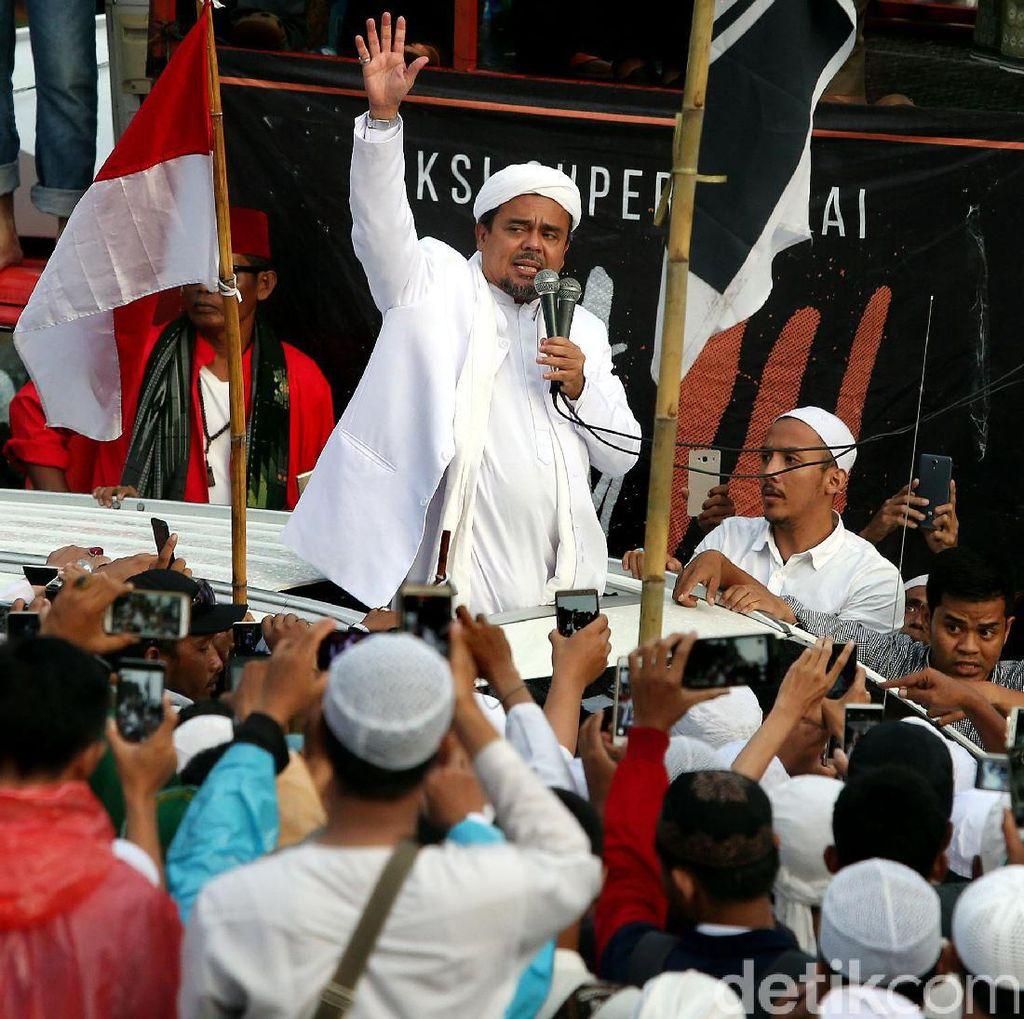 Habib Rizieq akan Bersaksi di Sidang Ahok Selasa Depan