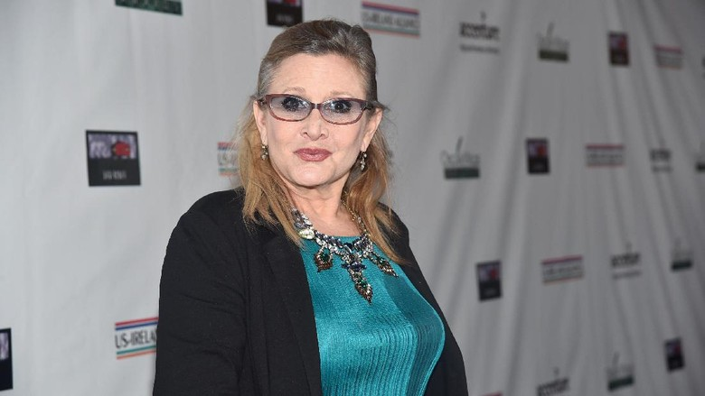 Ada Jejak Carrie Fisher di Naskah The Last Jedi