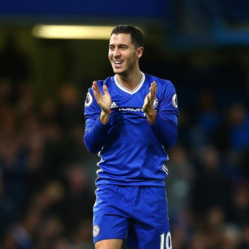 Hazard: Mana Kontrak Baruku, Chelsea?