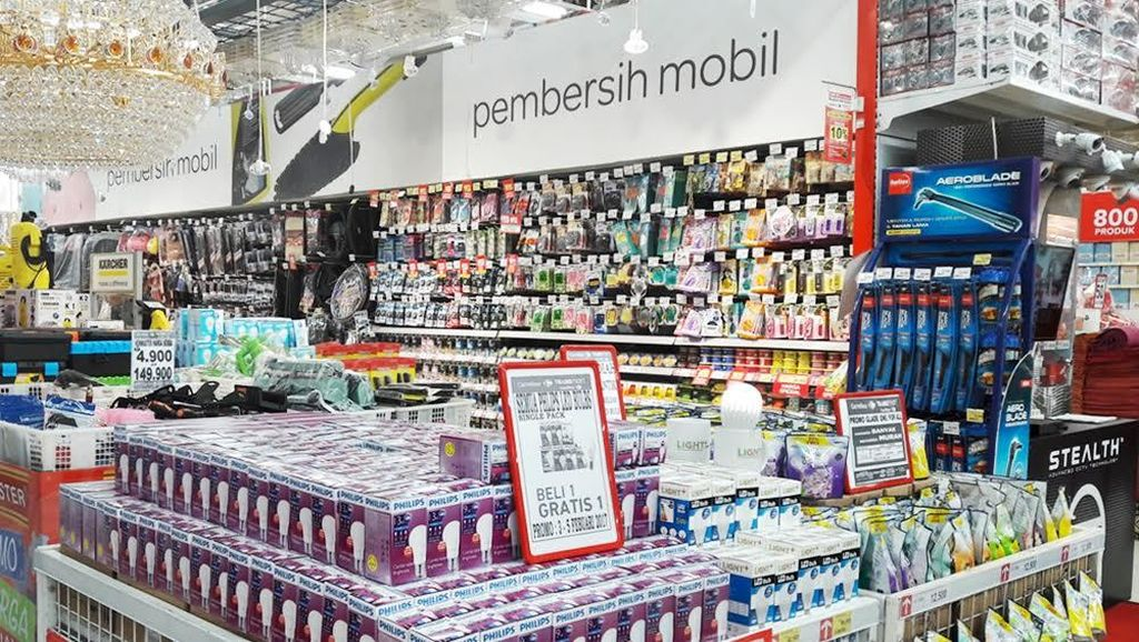 Beli 1 Gratis 1 Bohlam LED Philips di Transmart Carrefour
