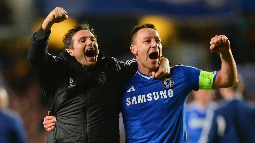 Terry: Lampard Pemain Terhebat di Sepanjang Sejarah Chelsea