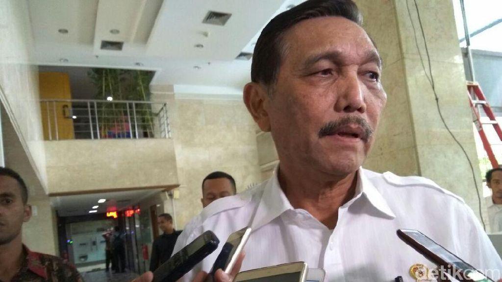 Ini Kata Luhut Soal Sikap Tegas Jokowi ke Freeport