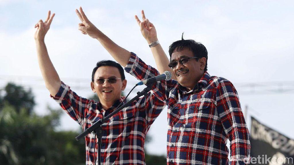 Ahok-Djarot Unggul di Jakut, Menang 48,45% Suara