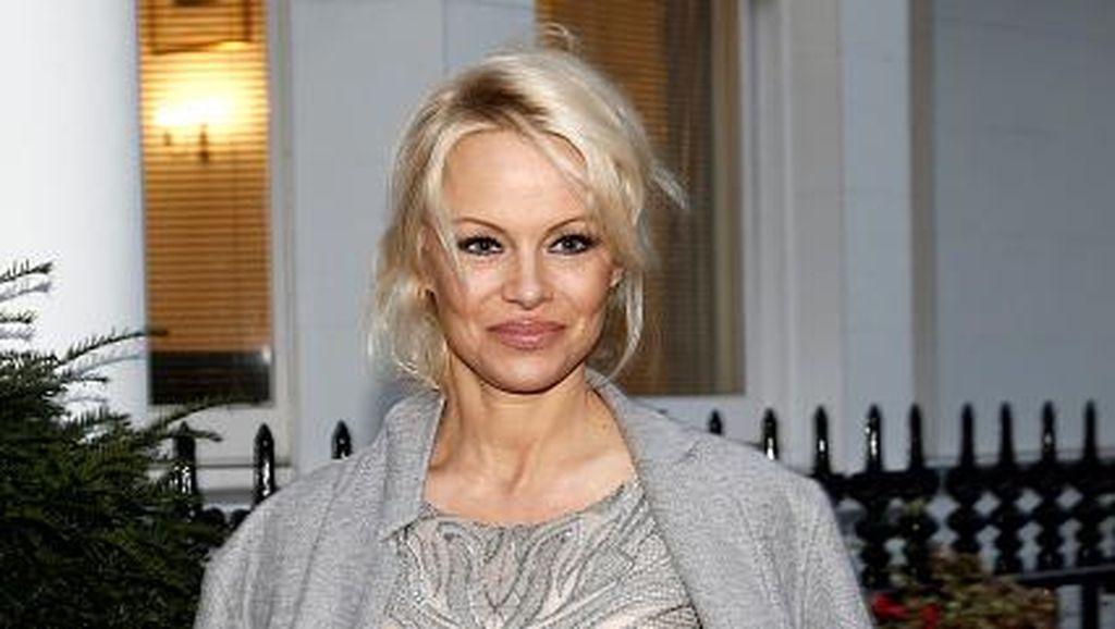 Pamela Anderson Kembali Berpose Syur di Usia 49 Tahun