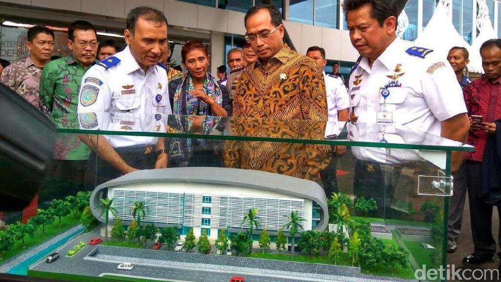 Resmikan Gedung Baru, Menhub: Dibangun Pakai Uang Rakyat