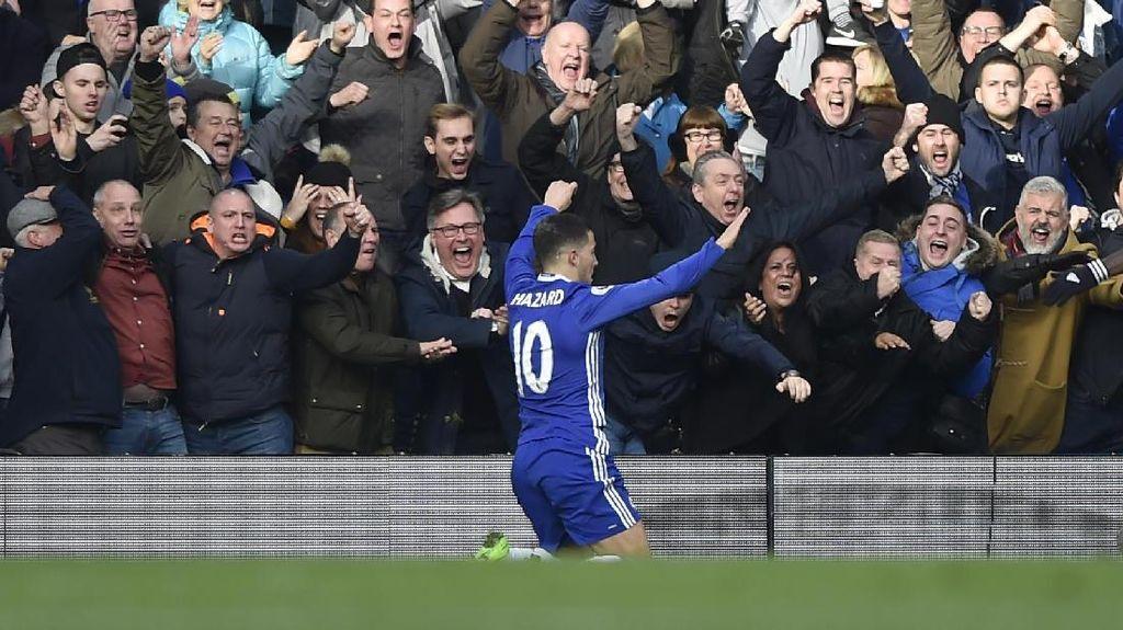 Hazard Dikabarkan Jadi Target Utama Real Madrid