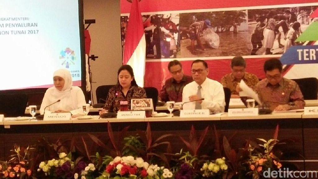 1,4 Juta Masyarakat Dapat Bantuan Pangan Non Tunai Rp 110.000