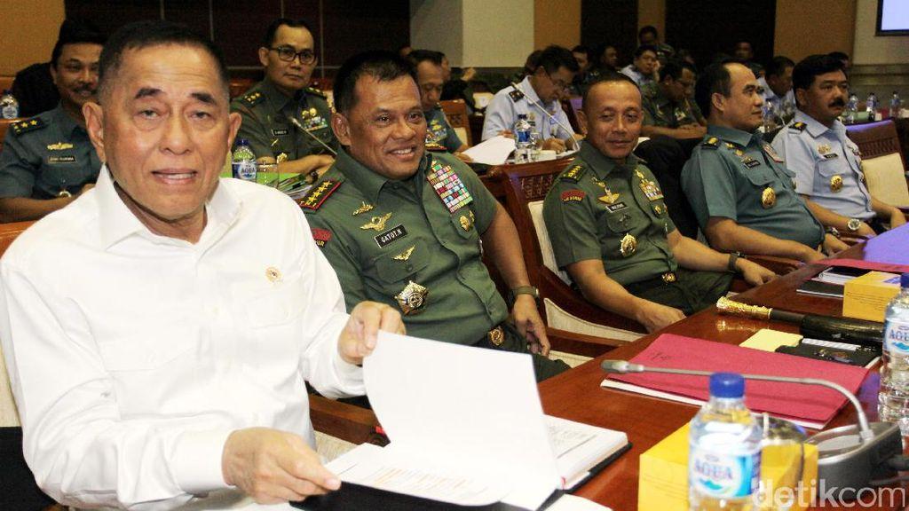 Soal Permenhan, Panglima TNI dan Menhan Diminta Duduk Bersama