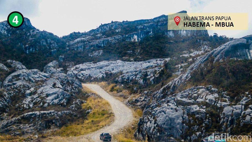 Proyek Jalan Trans Papua Terus Digenjot