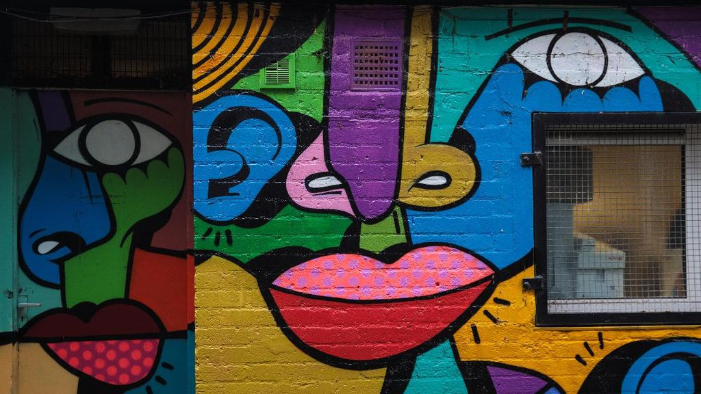 Melihat Panorama Mural di Jalan-jalan London