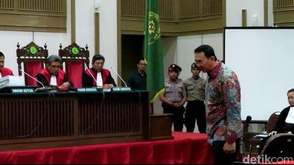 Sidang Ahok Kembali Digelar, 4 Saksi Ahli akan Dimintai Pendapat