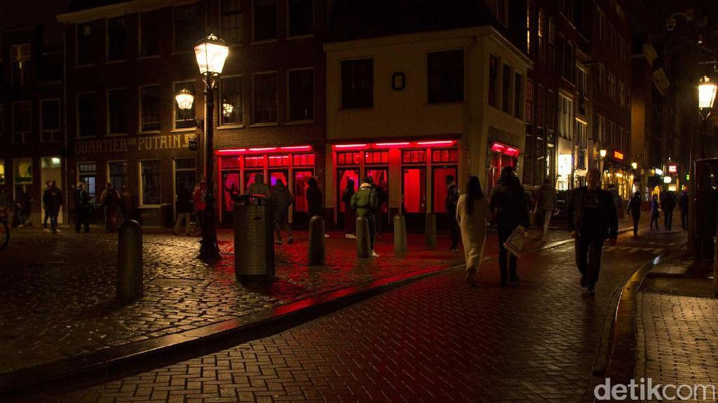 Khusus Dewasa, 5 Objek Wisata di Red Light District Amsterdam