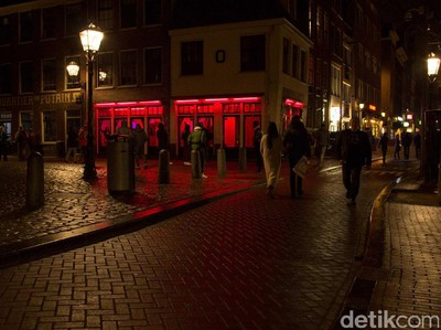 Khusus Dewasa, 5 Objek Wisata di Red Light District Amsterdam