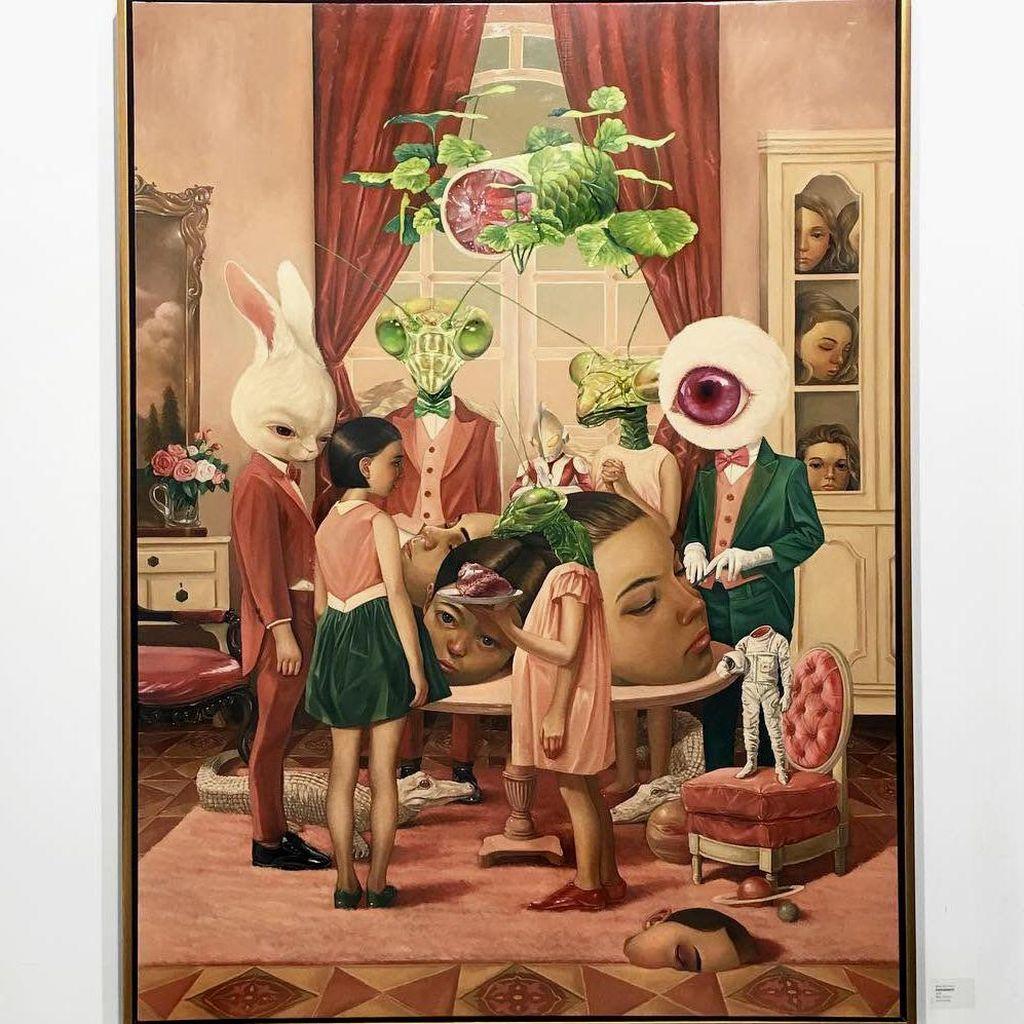 Lukisan Roby Dwi Antono Akan Dipajang di Art Fair Filipina