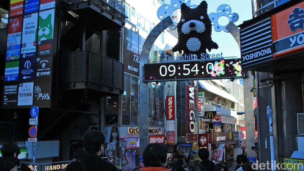 Belanja Sambil Cuci Mata di Harajuku, Jepang