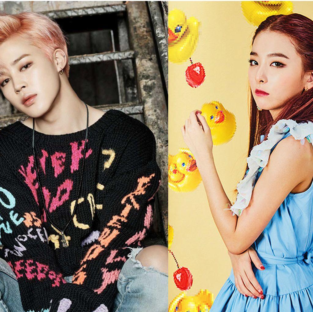 Jimin BTS Dikabarkan Pacaran dengan Seulgi Red Velvet