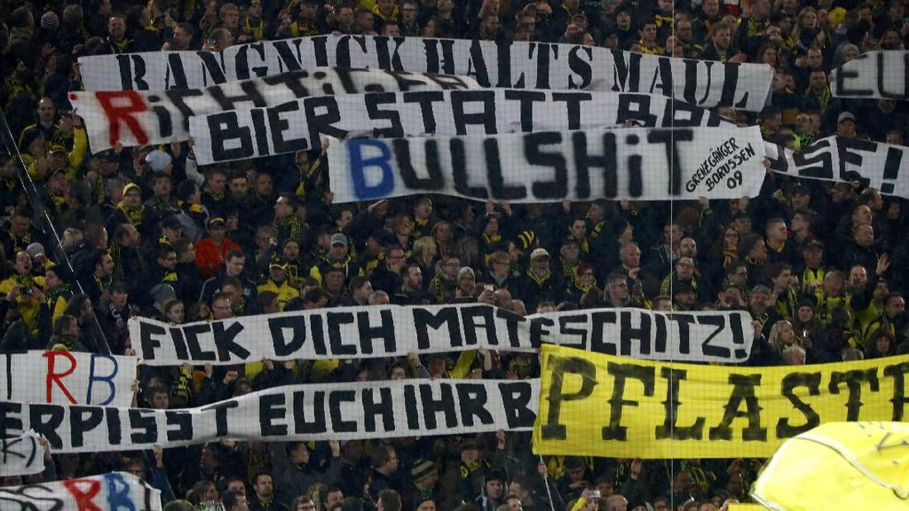 Dortmund Janji Hukum Suporternya yang Serang Fans RB Leipzig