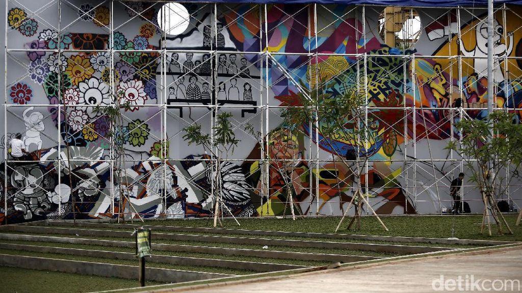 Asal Tak Singgung SARA, Kreasi Grafiti dan Mural di Kawasan Kalijodo Bebas