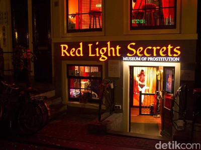 Sisi Lain Red Light District Amsterdam di Museum Prostitusi